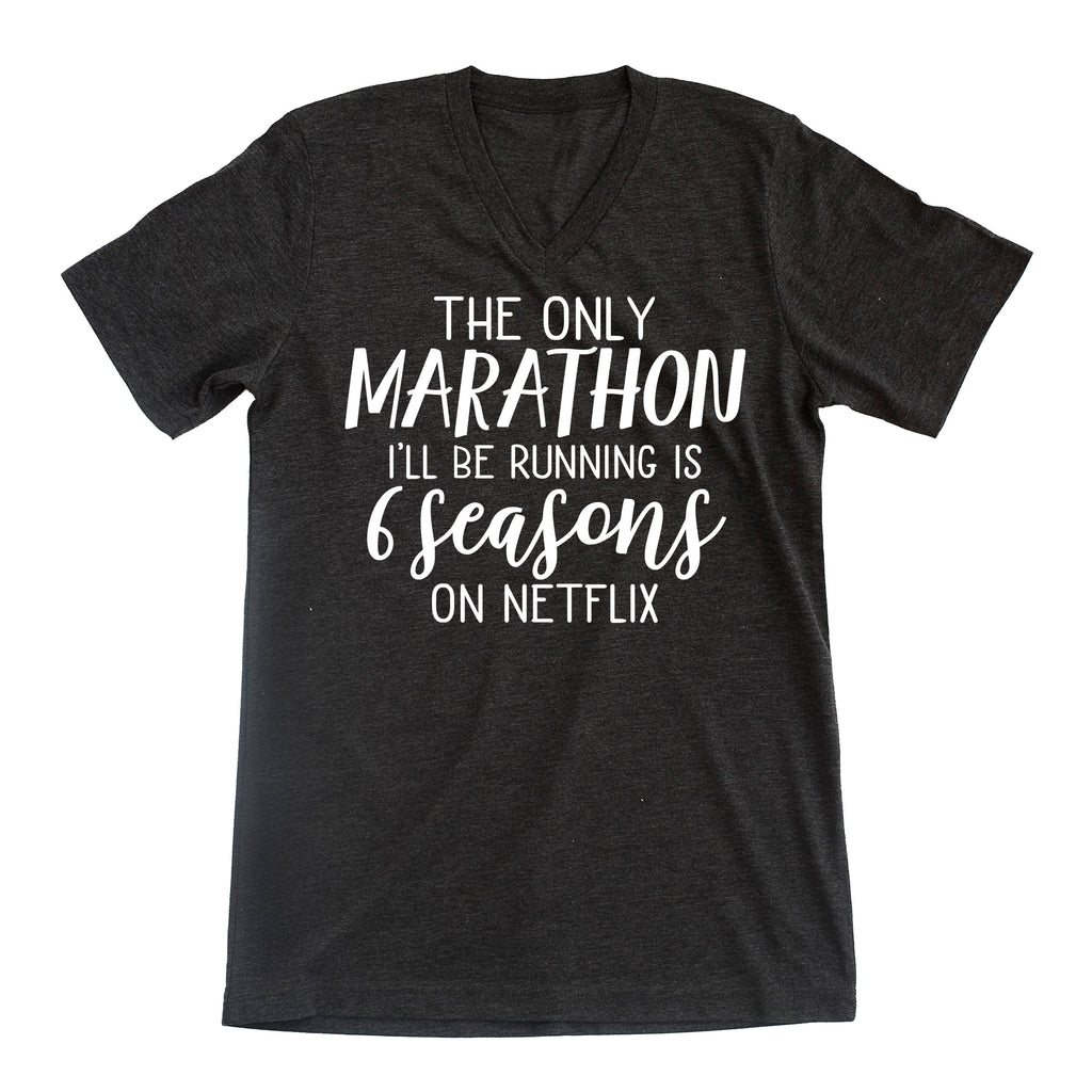 A Marathon is 6 Seasons Tee Shirt