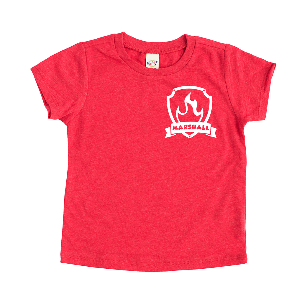 Marshall - Paw Patrol Badge Tee