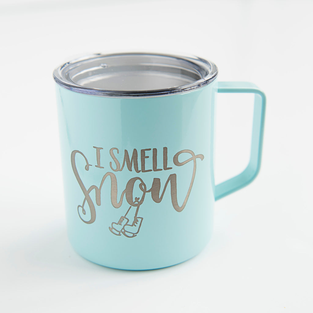 gilmore girls mug i smell snow