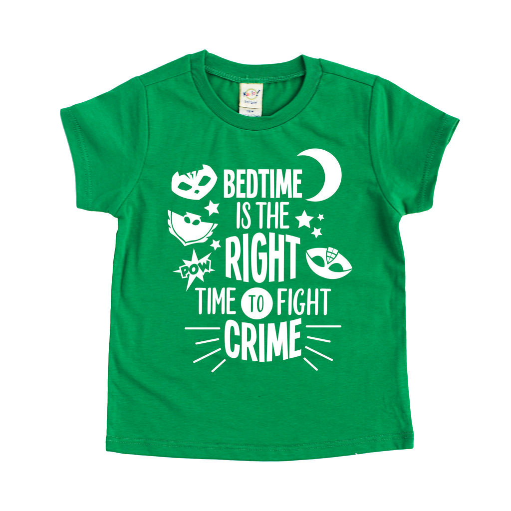 Bedtime Crime Fighter Tee - PJ Masks Shirt