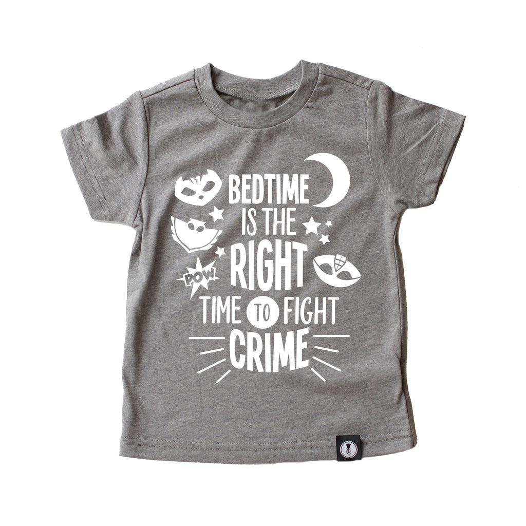 Bedtime Crime Fighter Tee - PJ Masks Tee {Youth}