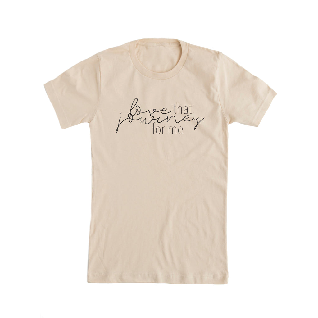 Love That Journey for Me Schitts Creek Inspired Fan Tee