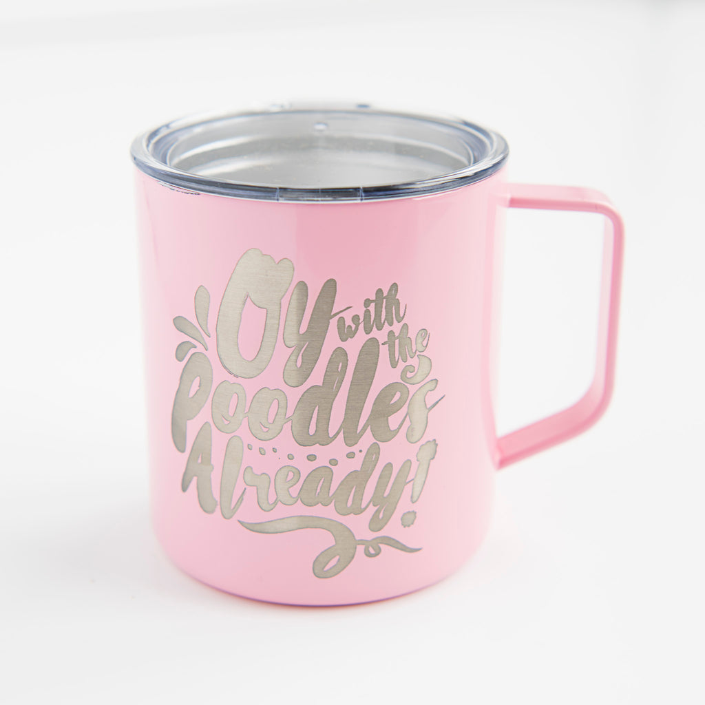 oy with the poodles already gilmore girls coffee mug