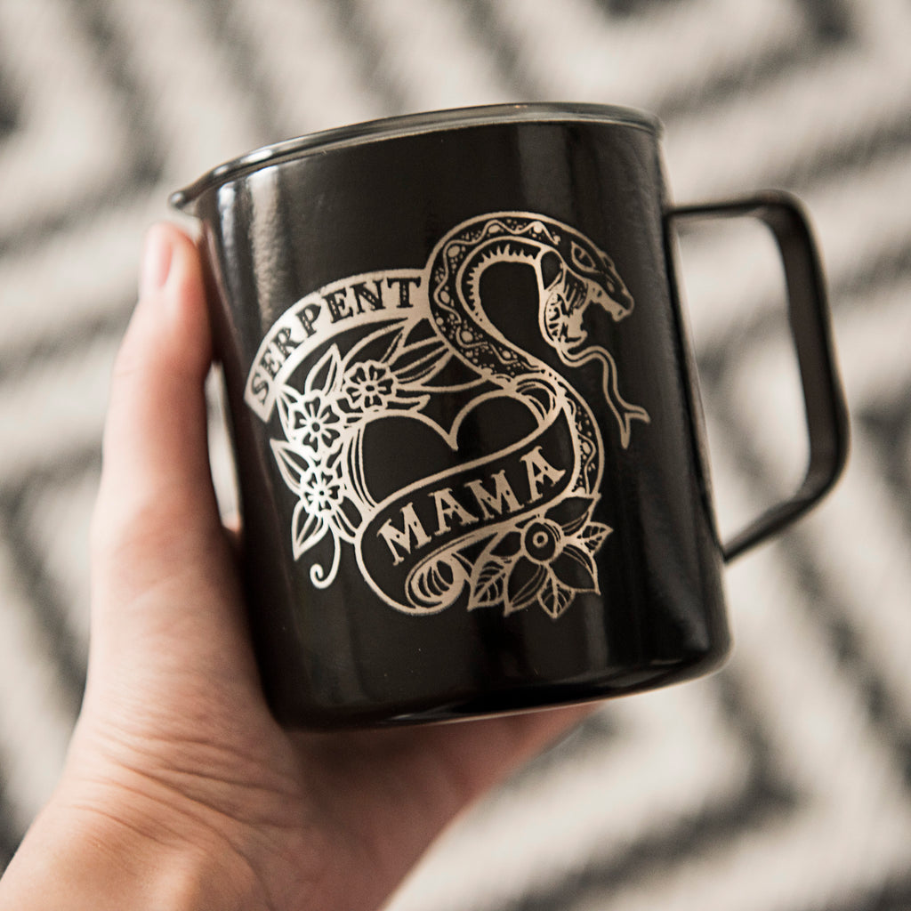 Serpent Mama Coffee Mug - 14oz
