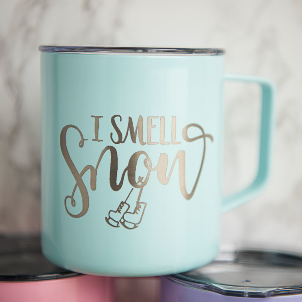 i smell snow gilmore girls mug
