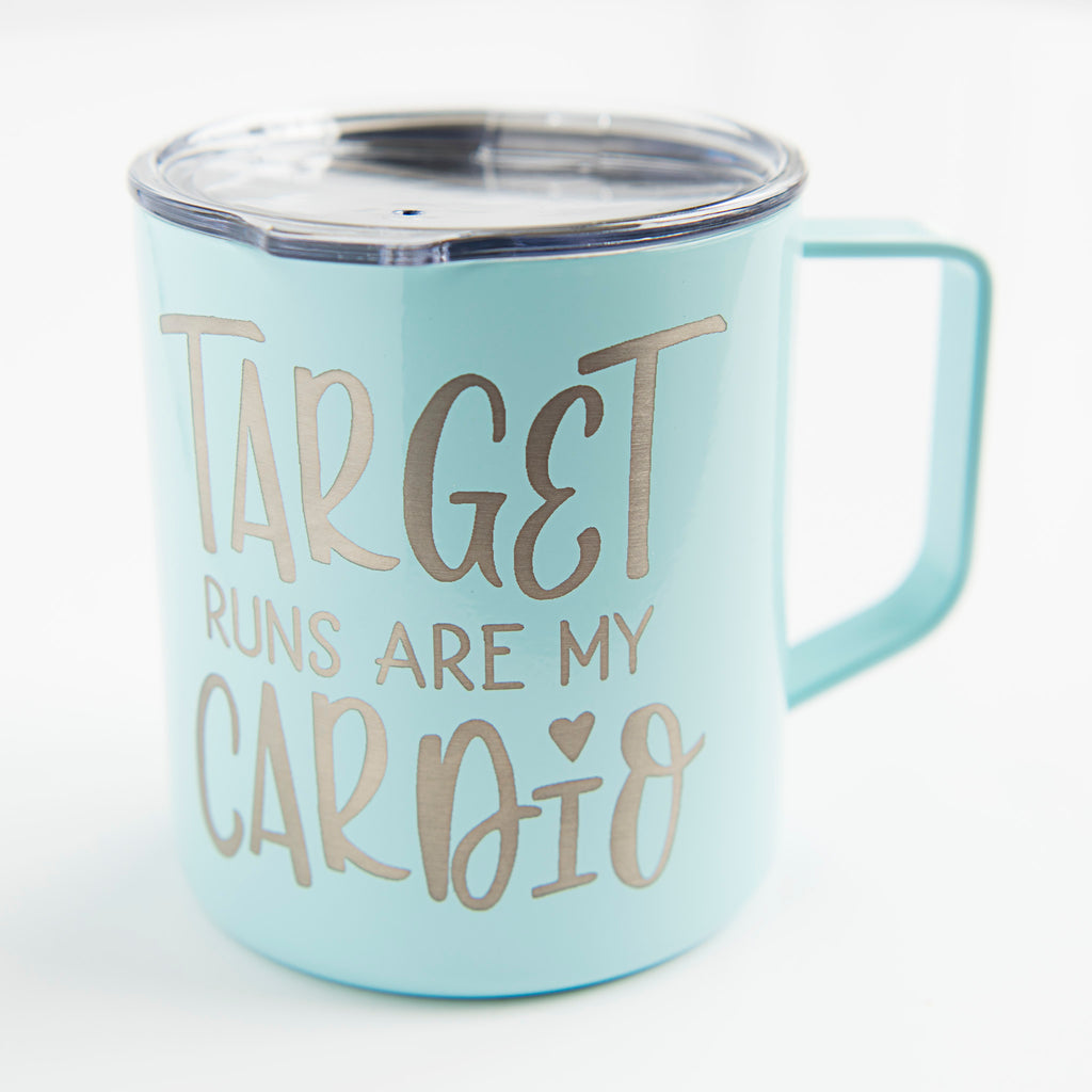 Target Runs Are My Cardio Coffee Mug