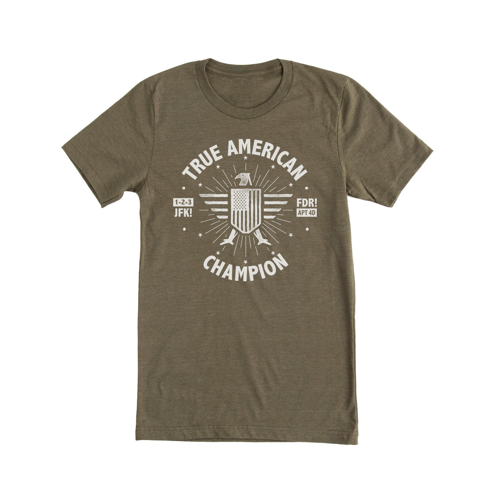 True American Champion - New Girl Tee Shirt