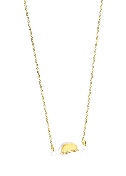 Gudetama on Belly Necklace
