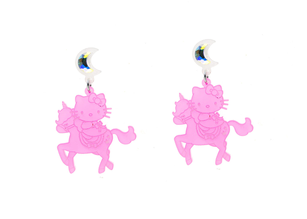 Hello Kitty Unicorn Dangle Earrings – VincaUSA