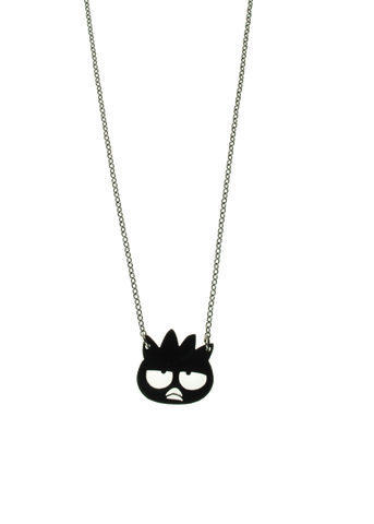 Badtz-Maru® Head Necklace in Solid Black