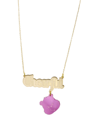 Care Bears™ Cheerful Nameplate Necklace