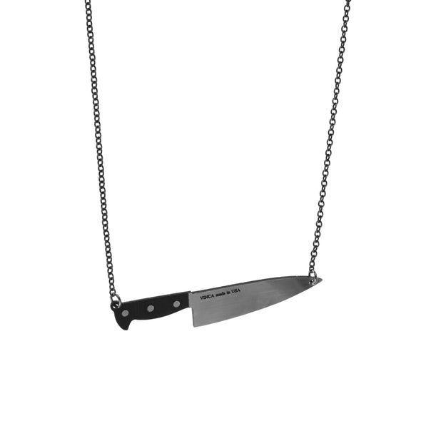 XL Chef's Knife Floater Necklace