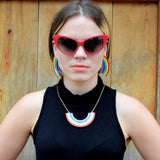XL Rainbow Earrings