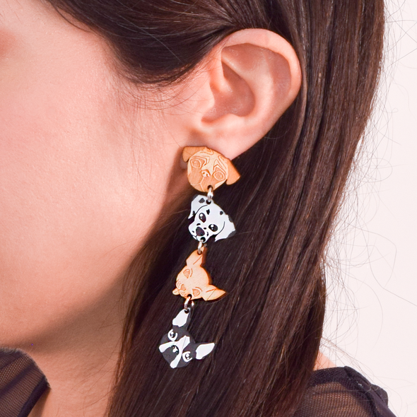 Ulti-Mutt Earrings