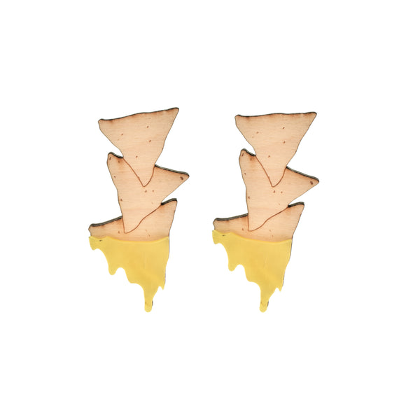 Chips and Queso Earrings