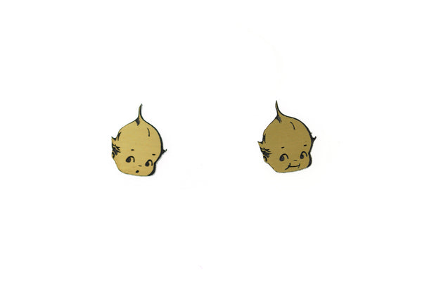 Kewpie® Cute Face Earrings