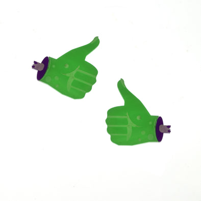 XL Zombie Thumbs Earrings