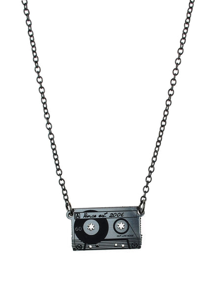Cassette Tape Necklace