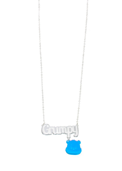 Care Bears™ Grumpy Bear Nameplate Necklace