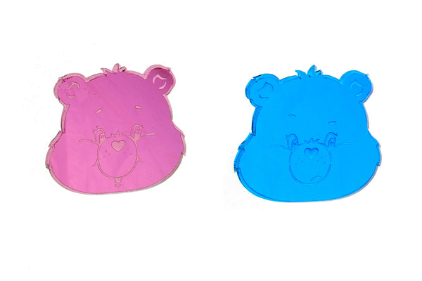 XL Care Bears™ Grumpy & Cheer Earrings