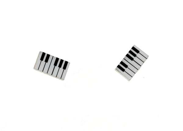 Piano Keyboard Earrings