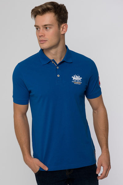 PROTEST POLO SHIRT ROYAL BLUE