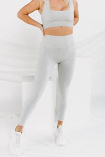 GOOD KARMA LEGGINGS - SEA GLASS 3231