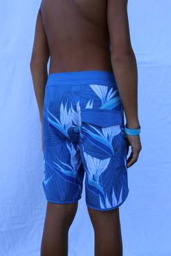BLUE PARADISE SURF SHORTS