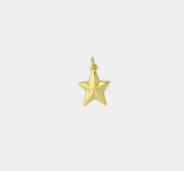 PENDANT - SOLID STAR