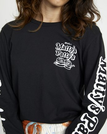 MATTYS PATTYS BBQ LONG SLEEVE TEE