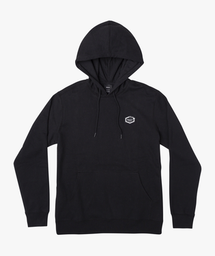 ISLAND HEX FLEECE - BLK