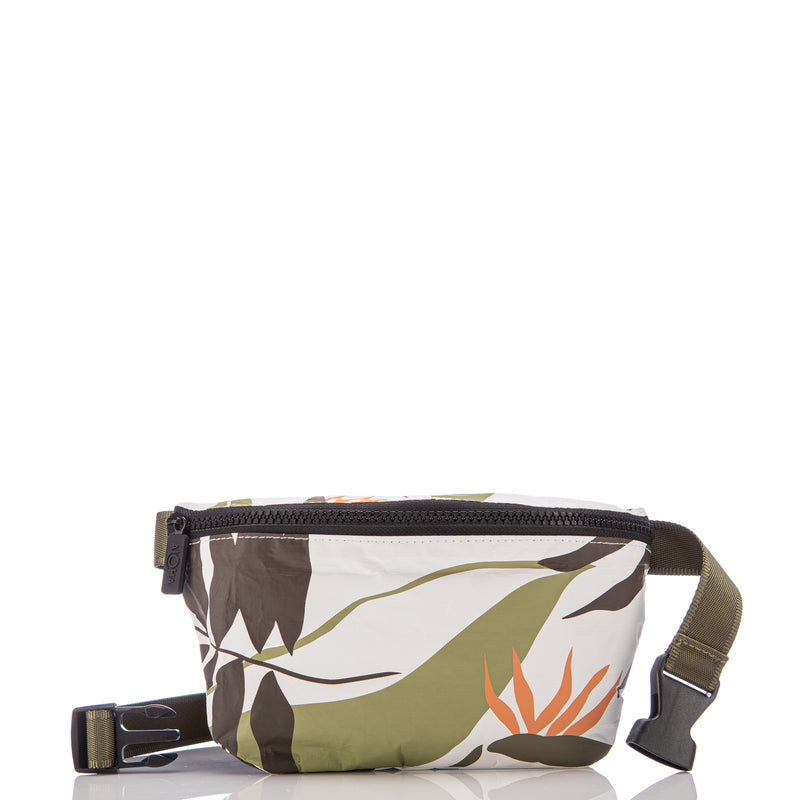 ALOHA MINI HIP PACK /  PAINTED BIRDS