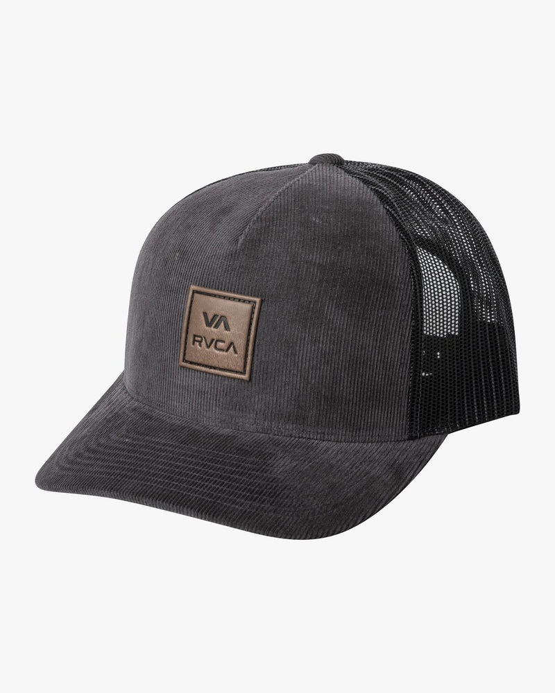 VA ALL THE WAY CURVED BRIM TRUCKER HAT - DGY