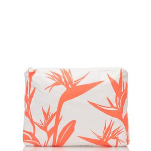 ALOHA MID / BIRDS IN PARADISE NEON CORAL