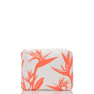 ALOHA SMALL /  PINSTRIPE BIRDS IN PARADISE CORAL