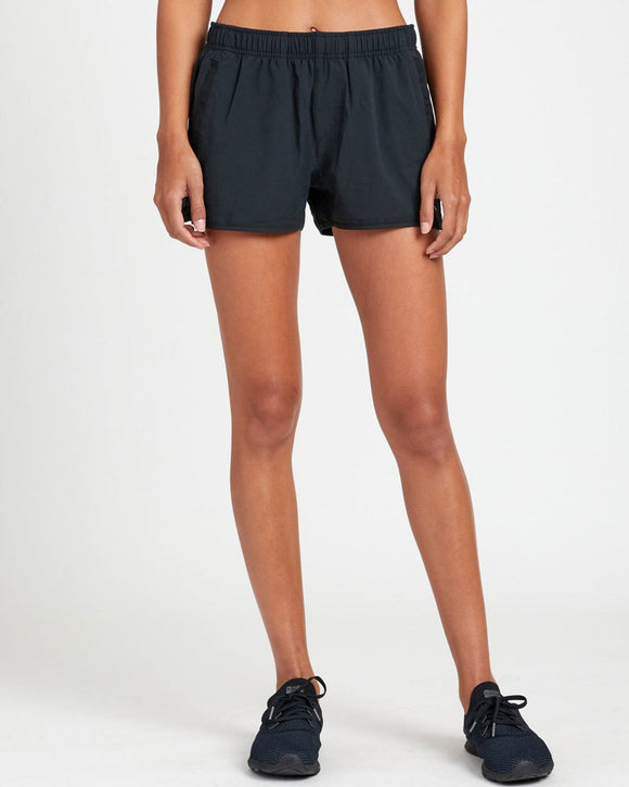 WOMENS YOGGER STRETCH BLK