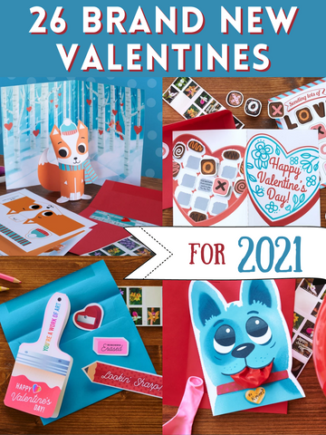 26 Brand New Valentines for 2021