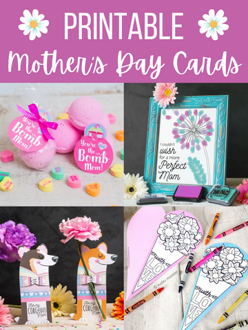 Printable Mother's Day Cards and Gifts