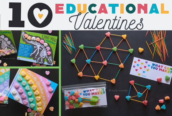 10 educational valentines