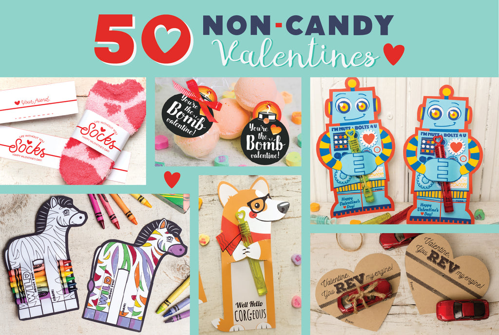 50 non candy valentines