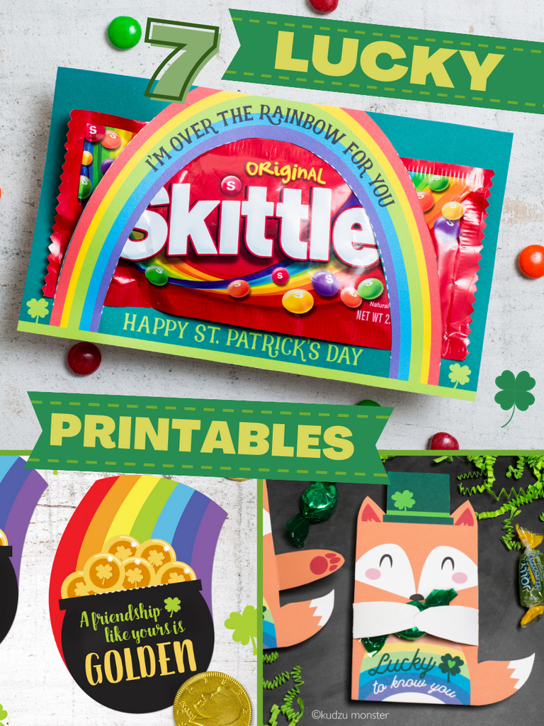 Feelin' Lucky with these St. Paddy's Printables