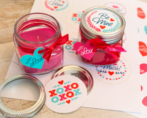 candle valentines