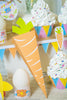 Printable Foldable Easter Carrot Candy Box - Kudzu Monster  - 2