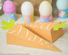 Printable Foldable Easter Carrot Candy Box - Kudzu Monster  - 3