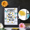 Mother's Day Finger Paint Art Activity: Lightning Bug Jar