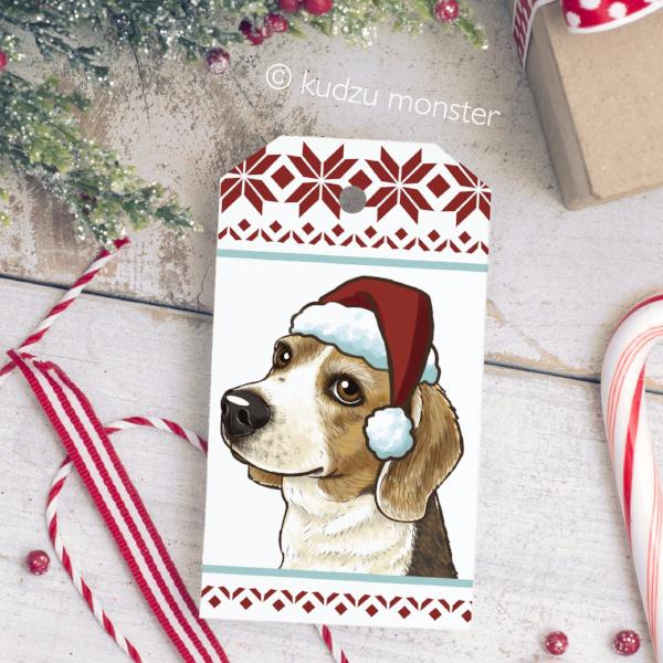 DIY Beagle Gift Tags