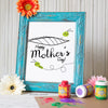 Mother's Day Finger Paint Art Activity: Caterpillar