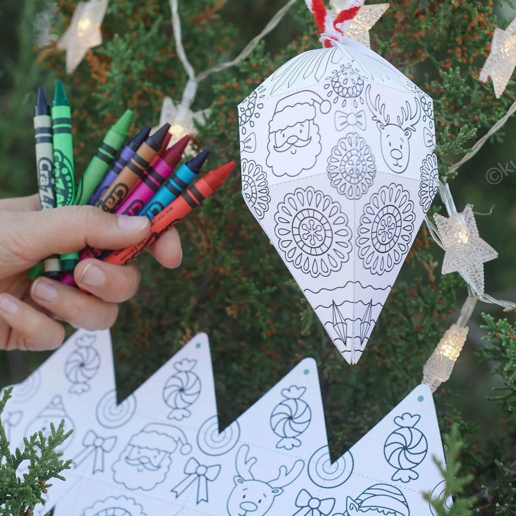 Coloring Christmas Ornament