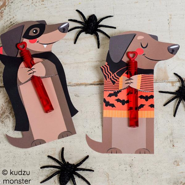 Halloweenie Dachshund Treat Hugger