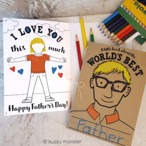 Father's Day Activity Book